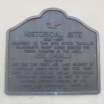 Joe Cavalli – Historical Site Marker