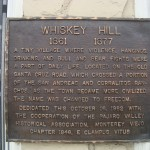 Whiskey Hill Marker