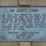Jim Jack's Cabin Marker