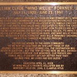 "William Clyde ""Wino Willie"" Forkner, Jr. Marker"