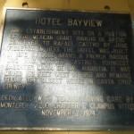Hotel Bayview Marker
